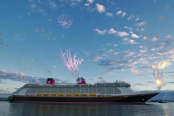 Disney Fantasy, el barco mas nuevo de Disney Cruise Line.
