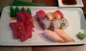 Sushi en Norwegian Cruise Line