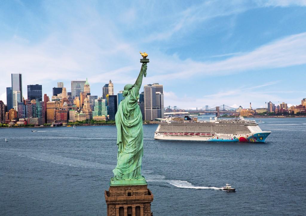 Crucero desde Nueva York con Norwegian Cruise Line