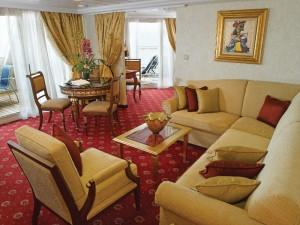 Barco Regatta, Oceania Cruises Suite