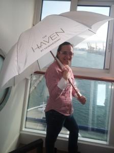Vistas desde una suite HAVEN de Norwegian Cruise Line