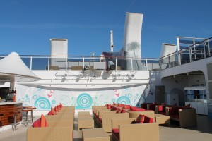 Posh Beach Club de Norwegian Cruise Line