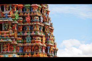Cochin. Templo de Meenakshi