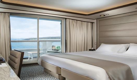 Silversea Glápagos. Veranda Suite