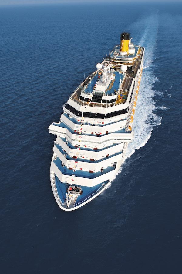 Costa Cruceros: vacaciones perfectas por todo el planeta