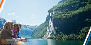 Storfjord fiordo noruego