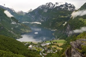 Norway, Geiranger HELLESYLT GEIRANGER