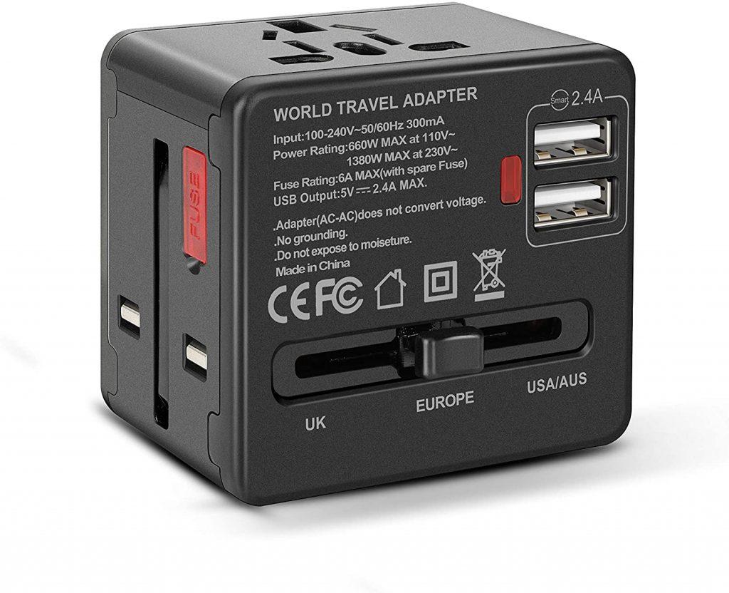 Adaptadores de corriente