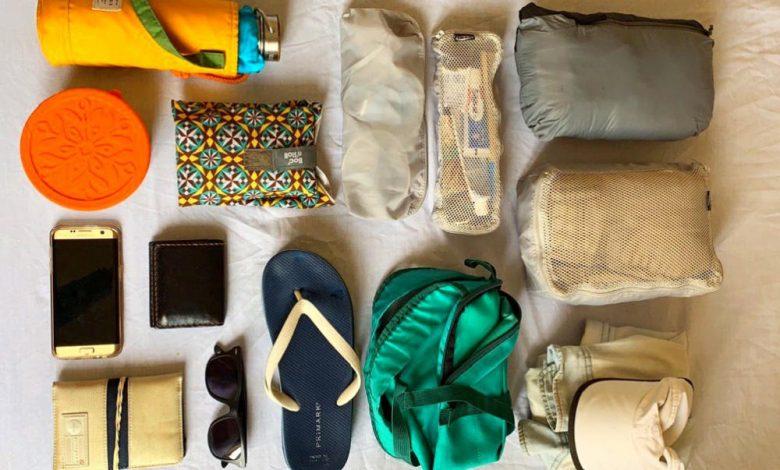 kit para viajar en crucero