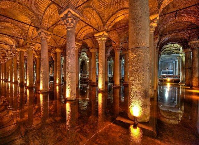 Cisterna Basílica Estambul