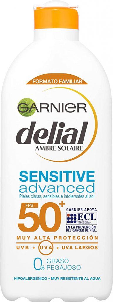 Crema solar Garnier Delial Sensitive